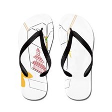 Customizable Fortune Cookie - Chinese T Flip Flops