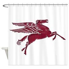 Pegasus Painterly Shower Curtain