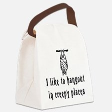 Creepyb.png Canvas Lunch Bag