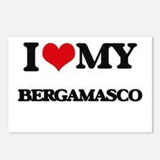 I love my Bergamasco Postcards (Package of 8)