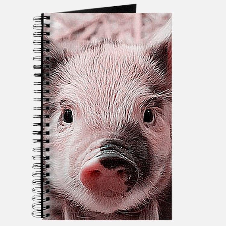 sweet piglet, pink Journal