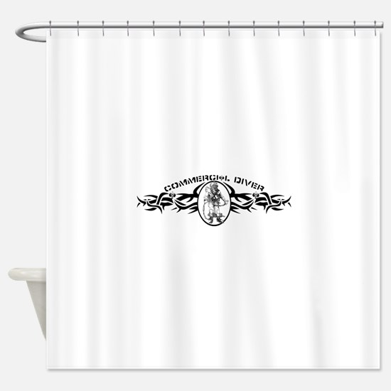 Cute Welding Shower Curtain