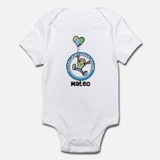 Mateo: Happy B-day to me Infant Bodysuit