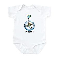 Mason: Happy B-day to me Infant Bodysuit