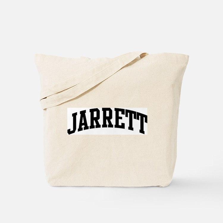 JARRETT (curve-black) Tote Bag