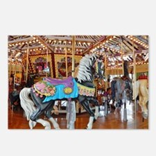 """""""CAROUSEL HORSE 4"""" Postcards (Package of 8)"""