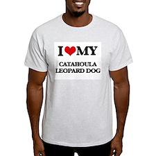 I love my Catahoula Leopard Dog T-Shirt