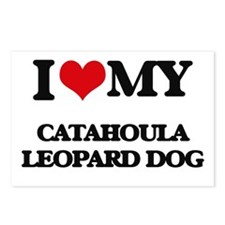 I love my Catahoula Leopa Postcards (Package of 8)