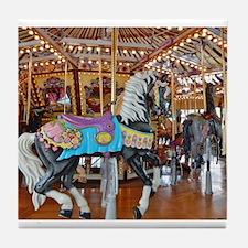 """""""CAROUSEL HORSE 4"""" Tile Coaster"""