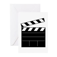Cute Clapperboard Greeting Cards (Pk of 20)