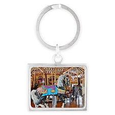 """CAROUSEL HORSE 4"" Keychains"
