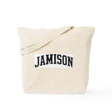 JAMISON (curve-black) Tote Bag