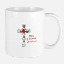 HAVE A BLESSED CHRISTMAS Mugs