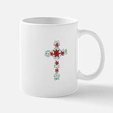 Floral Cross Mugs