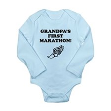 Grandpas First Marathon Body Suit