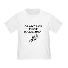 Grandpas First Marathon T-Shirt