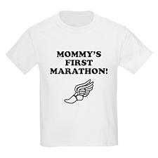 Mommys First Marathon T-Shirt
