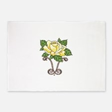 YELLOW ROSE OF TEXAS 5'x7'Area Rug