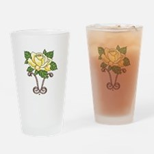 YELLOW ROSE OF TEXAS Drinking Glass