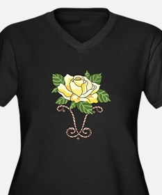 YELLOW ROSE OF TEXAS Plus Size T-Shirt