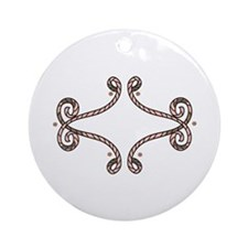 ROPE BORDER Ornament (Round)