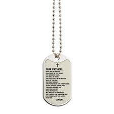 The Lord's Prayer Dog Tags