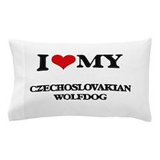 I love my Czechoslovakian Wolfdog Pillow Case
