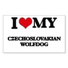I love my Czechoslovakian Wolfdog Decal