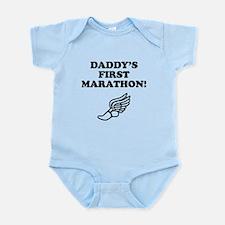 Daddys First Marathon Body Suit