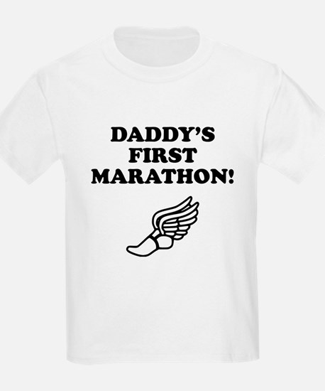 Daddys First Marathon T-Shirt