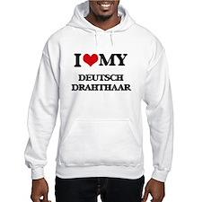 I love my Deutsch Drahthaar Hoodie