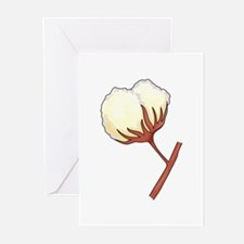 COTTON BOLL Greeting Cards