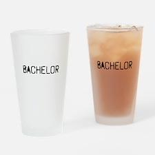 Bachelor Drinking Glass
