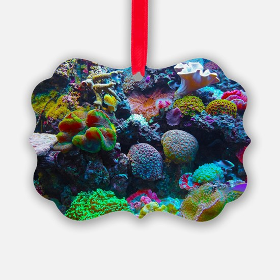 Beautiful Coral Reef Ornament