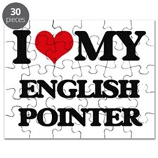 I love my English Pointer Puzzle