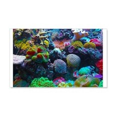 Beautiful Coral Reef Wall Decal