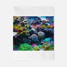 Beautiful Coral Reef Twin Duvet