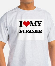 I love my Eurasier T-Shirt