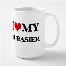 I love my Eurasier Mugs