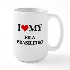 I love my Fila Brasileiro Mugs