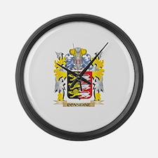 Considine Coat of Arms - Family C Large Wall Clock