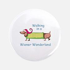 """WIENER WONDERLAND 3.5"""" Button (100 pack)"""