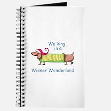 WIENER WONDERLAND Journal