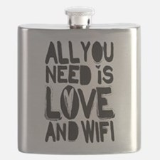 All you need is love and wifi Flask