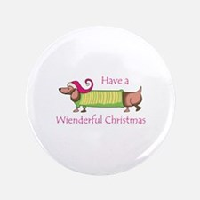 """WIENDERFUL CHRISTMAS 3.5"""" Button (100 pack)"""