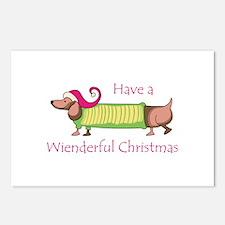 WIENDERFUL CHRISTMAS Postcards (Package of 8)