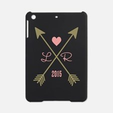 Personalized Pink Heart And Arrows iPad Mini Case