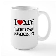I love my Karelian Bear Dog Mugs