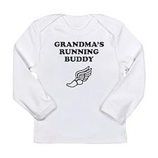 Grandmas Running Buddy Long Sleeve T-Shirt