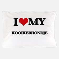 I love my Kooikerhondje Pillow Case